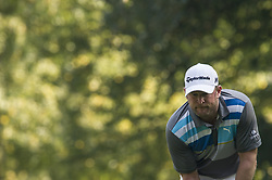 October 14, 2017 - Monza, Italy - Jamie Donaldson of Wales on Day three of the Italian Open at Golf Club Milano (Credit Image: © Gaetano Piazzolla/Pacific Press via ZUMA Wire)