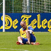 AUS/Seefeld/20100530 - Training NL Elftal WK 2010, Wesley Sneijder geblesseerd aan zijn voet
