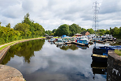Tinsley Marina and the Tinsley and Sheffield Canal viewed from the Lock Gate<br /> 06 September 2020<br /> <br /> www.pauldaviddrabble.co.uk<br /> All Images Copyright Paul David Drabble - <br /> All rights Reserved - <br /> Moral Rights Asserted -