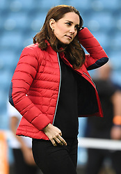 The Duke and Duchess of Cambridge visit Aston Villa Football Club to see the work of the Coach Core programme taking place in Birmingham, UK, on the 22nd November 2017. 22 Nov 2017 Pictured: Catherine, Duchess of Cambridge, Kate Middleton. Photo credit: James Whatling / MEGA TheMegaAgency.com +1 888 505 6342