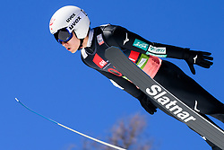 March 23, 2019 - Planica, Slovenia - Yukiya Sato of Japan in action during the team competition at Planica FIS Ski Jumping World Cup finals  on March 23, 2019 in Planica, Slovenia. (Credit Image: © Rok Rakun/Pacific Press via ZUMA Wire)