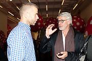 WOLFGANG TILLMANS; CHRIS DERCON, Yayoi Kusama opening. Tate Modern. London. 7 February 2012