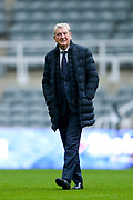 Crystal Palace manager Roy Hodgson ahead of the Premier League match between Newcastle United and Crystal Palace at St. James's Park, Newcastle, England on 21 December 2019.