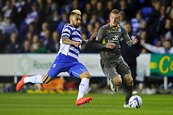 - Photo mandatory by-line: Rogan Thomson/JMP - 07966 386802 - 14/04/2014 - SPORT - FOOTBALL - Madejski Stadium, Reading - Reading v Leicester City - Sky Bet Football League Championship.