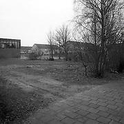 NLD/Huizen/19920303 - Braakliggend terrein kruising Disselweg - Trekkerweg Huizen