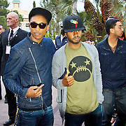 MON/Monte Carlo/20100512 - World Music Awards 2010, Shay Heldon en Pharell Williams
