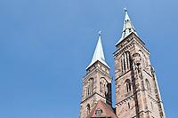 Saint Sebaldus - Sebald's chruch, Nuremberg, Franconia, Bavaria, Germany