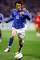 AShunsuke Nakamura (JPN),<br /> MARCH 30, 2005 - FOOTBALL : Shunsuke <br /> Nakamura of Japan in action during the 2006 <br /> FIFA World Cup Asian qualifying round between <br /> Japan 1-0 Bahrain at Saitama Stadium in Saitama, Japan. <br /> (Photo by AFLO SPORT/Digitalsport<br /> Norway only
