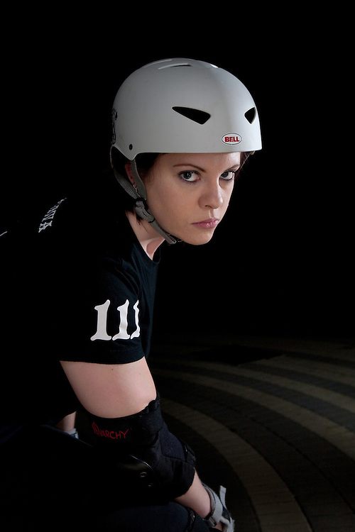 Roller Derby Woman
