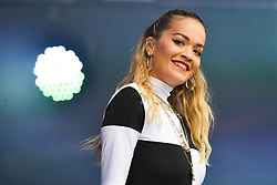 Rita Ora performs during the second day of BBC Radio 1's Biggest Weekend at Singleton Park, Swansea.