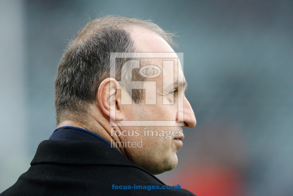 France head coach Philippe Saint-Andre looks on during the RBS 6 Nations match at Twickenham Stadium, Twickenham<br /> Picture by Andrew Tobin/Focus Images Ltd +44 7710 761829<br /> 21/03/2015