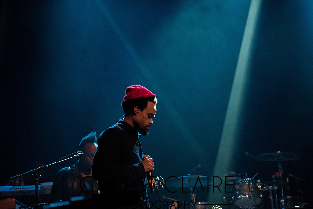 Bilal and Wyclef Jean perform at Gramercy Theatre with The Roots.
