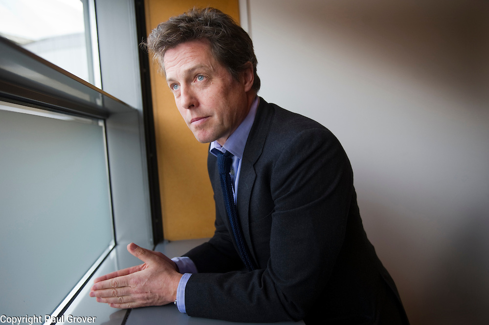 Conservative Party Conference in Manchester.Pic Shows Actor Hugh Grant
