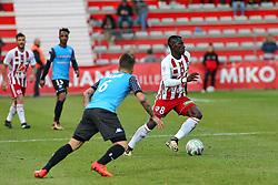 January 27, 2018 - Ajaccio, CORSE, FRANCE - Mohamed Mady CAMARA (ACA) vs  (Credit Image: © Panoramic via ZUMA Press)