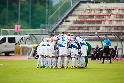 NK Celje before Football match between NK Triglav Kranj and NK Celje, on May 12, 2019 in Sport center Kranj, Kranj, Slovenia. Photo by Peter Podobnik / Sportida