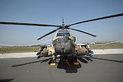 Israel, Tel Nof IAF Base, An Israeli Air force (IAF) exhibition Israeli Air force Sikorsky CH-53 helicopter