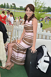 OPHELIA LOVIBOND at the St.Regis International Polo Cup at Cowdray Park, Midhurst, West Sussex on 17th May 2014.