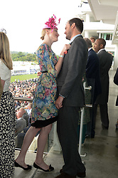 JADE PARFITT and JACK DYSON at the Investec Derby 2013 held at Epsom Racecourse, Epsom, Surrey on 1st June 2013.