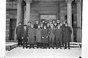 """""""soccer squad 1916"""" (note snow on ground)"""