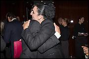 Tomas Auksas,; ROSSY DE PALMA;  Liberatum Cultural Honour for Francis Ford Coppola<br /> with Bulgari Hotel & Residences, London. 17 November 2014