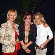 CD uitreiking Liesbeth List, Marleen Houter, Cilly Dartell en Millika Peterzon