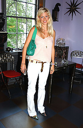 Jeweller PHILIPPA HOLLAND at a launch preview sale of Nathalie Hambro's new line of fashion accessories 'Full of Chic' held at her home 63 Warwick Square, London SW1 on 5th May 2005.<br /><br />NON EXCLUSIVE - WORLD RIGHTS