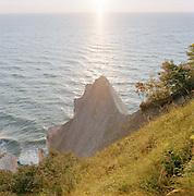 Wissower Klinken Cliffs near Sassnitz in the Jasmund National Park, on the island of Rugen, nothern Germany