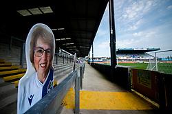Cardboard cut outs at the Memorial Stadium - Mandatory by-line: Dougie Allward/JMP - 19/09/2020 - FOOTBALL - Memorial Stadium - Bristol, England - Bristol Rovers v Ipswich Town - Sky Bet League One