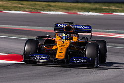 February 28, 2019 - Barcelona, Barcelona, Spain - Lando Norris from Great Britain with 04 Mclaren F1 Team - Renault MCL34 in action  during the Formula 1 2019 Pre-Season Tests at Circuit de Barcelona - Catalunya in Montmelo, Spain on February 28. (Credit Image: © Xavier Bonilla/NurPhoto via ZUMA Press)