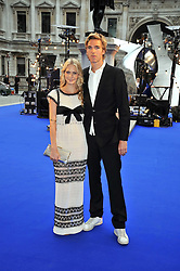 POPPY DELEVINGNE and JAMES COOKE at the Royal Academy of Arts Summer Party held at Burlington House, Piccadilly, London on 3rd June 2009.