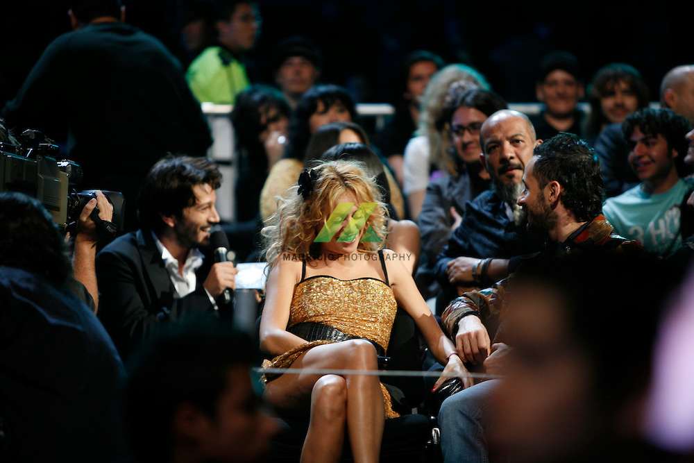 The Mexican actor Diego Luna has co-hosted and hosted the awards in 2002, 2003 and 2007. MTV Video Music Awards Latinoamerica or VMALA's is the Latin American version of the Video Music Awards. Paulina Rubio Dosamantes is a Mexican singer and actress. R