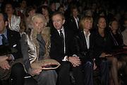 Mme Pompidou and Bernard Arnault. Christian Dior couture. , Polo de Paris, Bois de Boulogne. Paris.   January 2006.  ONE TIME USE ONLY - DO NOT ARCHIVE  © Copyright Photograph by Dafydd Jones 66 Stockwell Park Rd. London SW9 0DA Tel 020 7733 0108 www.dafjones.com