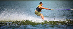 Having Some Water Ski Fun On Lake Minnetonka