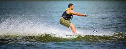 Having Some Water Ski Fun On Lake Minnetonka