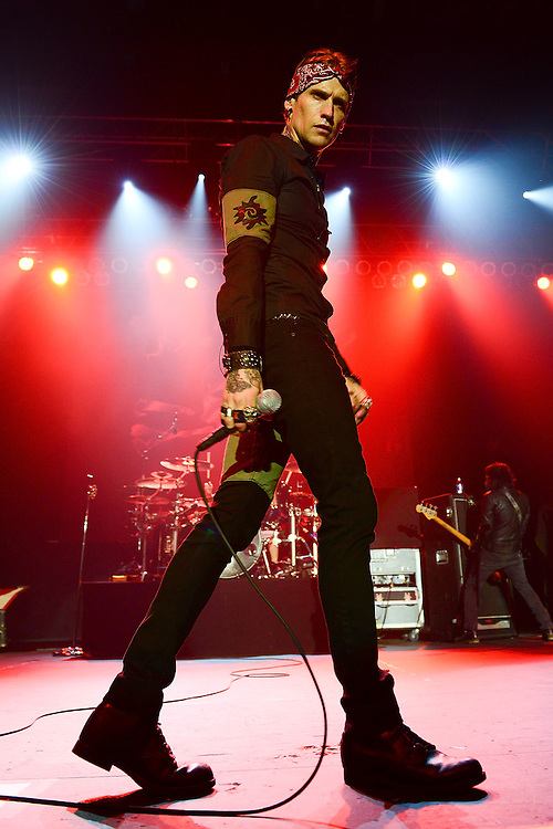 BETHLEHEM, PA - MAY 29:  Singer Josh Todd of Buckcherry performs at the Sands Bethlehem Event Center on May 29, 2013 in Bethlehem, Pennsylvania.  (Photo by Lisa Lake/Getty Images)