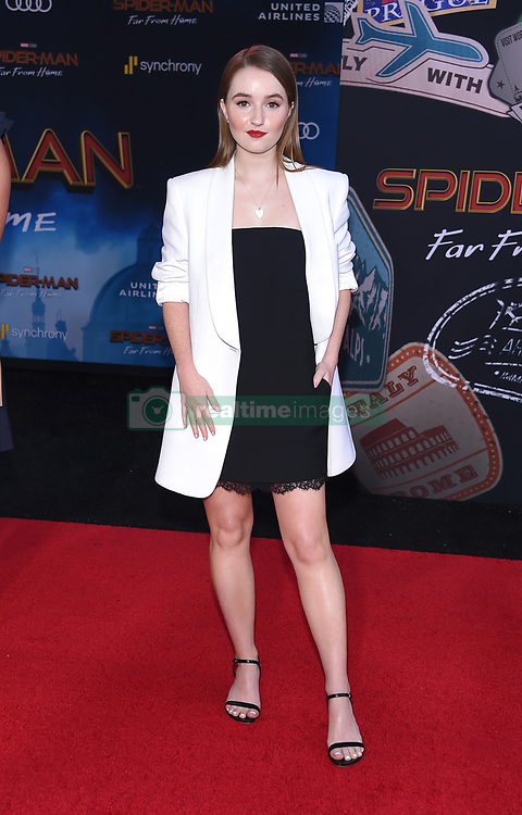 """Hunter Schafer, Alexa Demie and Barbie Ferreira at the """"Spider-Man: Far From Home"""" world premiere held at the TCL Chinese Theatre IMAX on June 26, 2019 in Hollywood, CA. © O'Connor/AFF-USA.com. 26 Jun 2019 Pictured: Kaitlyn Dever. Photo credit: O'Connor/AFF-USA.com / MEGA TheMegaAgency.com +1 888 505 6342"""