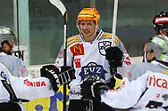24.Feb.2012; Rapperswil-Jona; Eishockey NLA - Rapperswil-Jona Lakers - EV Zug;<br />  Topscorer Damien Brunner (Zug) (Thomas Oswald)