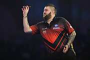 Michael Smith during the World Darts Championships 2018 at Alexandra Palace, London, United Kingdom on 28 December 2018.
