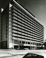 1969 Continental Hyatt Hotel on Sunset Blvd.