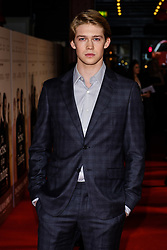 April 6, 2017 - London, England, United Kingdom - Joe Alwyn  at The Sense of an Ending film premiere, London, UK. 06.04.2017 (Credit Image: © Julie Edwards/Avalon via ZUMA Press)