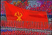 """Workers Party Flag, Pyongyang, North Korea - """"Inside North Korea"""" MARIE CLAIRE"""