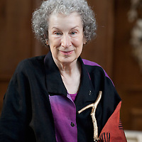 LONDON, ENGLAND - SEPTEMBER 03:  Canadian author Margaret Atwood attends photocall for The Year Of The Flood performance on September 3, 2009 in London, England.  ...***Standard Licence  Fee's Apply To All Image Use***.Marco Secchi /Xianpix. tel +44 (0) 845 050 6211. e-mail ms@msecchi.com or sales@xianpix.com.www.marcosecchi.com