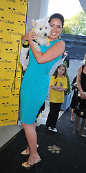 CLAIRE SWEENEY at the annual Dog's Trust Honours Awards held at The Hurlingham Club, Fulham, London on 19th May 2009.