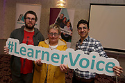 Attending The National FET Learner Forum Regional Meeting in the Abbey Hotel, Roscommon on Wednesday were Mark Farrell, Battina Devaney and Ghassan Shmet. Photo:- XPOSURE.IE