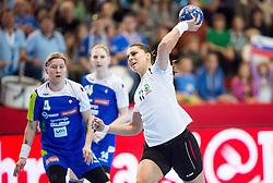 Karin Weigelt of Switzerland during handball game between Women National Teams of Slovenia and Switzerland in 2014 Women's European Championship Qualification, on March 30, 2014 in Arena Kodeljevo, Ljubljana, Slovenia. Photo by Vid Ponikvar / Sportida