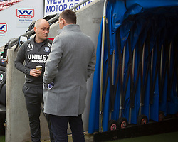 Preston North End manager Alex Neil (L) before the match - Mandatory by-line: Jack Phillips/JMP - 08/02/2020 - FOOTBALL - DW Stadium - Wigan, England - Wigan Athletic v Preston North End - English Football League Championship