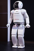 ASIMO the acronym for Advanced Step in Innovative Mobility is a humanoid robot developed by Honda. ASIMO was designed to be a multi-functional mobile assistant with aspirations of helping those who lack full mobility. ASIMO is often used in demonstrations around the world to encourage the study of science and mathematics. Honda began developing humanoid robots in the 1980s and was the company's goal to create a walking robot to adapt and interact in human situations, as well as improve the quality of life.