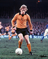 Fotball<br /> Wolverhampton<br /> Englands stolthet<br /> Foto: Colorsport/Digitalsport<br /> NORWAY ONLY<br /> <br /> Willie Carr (Wolves) . Ipswich Town v Wolverhampton Wanderers. 29/1/77. 1976/77