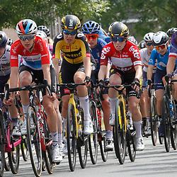 EEKLO (BEL) July 8 CYCLING: <br /> 1th Stage Baloise Belgium tour <br /> In the peloton, Majerus, Kasper, Henderson