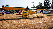 1946 Fairchild at the Northwest Antique Airplane Club flyin, Scapoose, OR